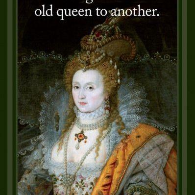 Card (Cath Tate): Elizabeth I