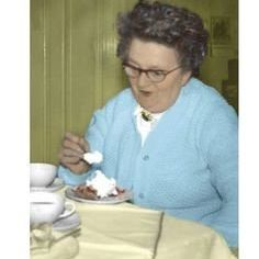 Card (Cath Tate): Life without cake