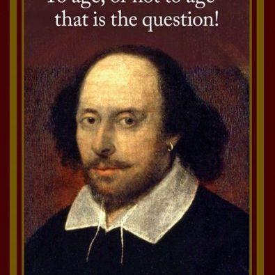 Card (Cath Tate): William Shakespeare