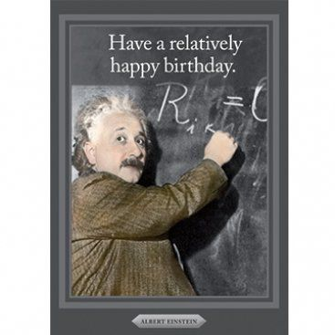 Card (Cath Tate): Albert Einstein