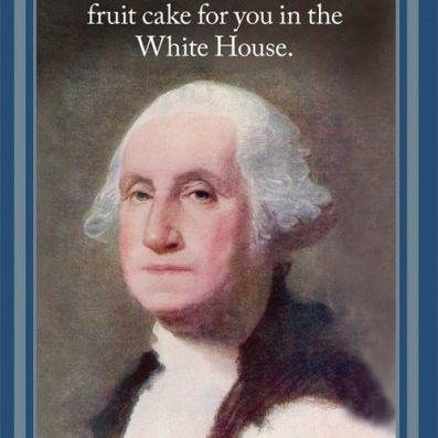 Card (Cath Tate): George Washington