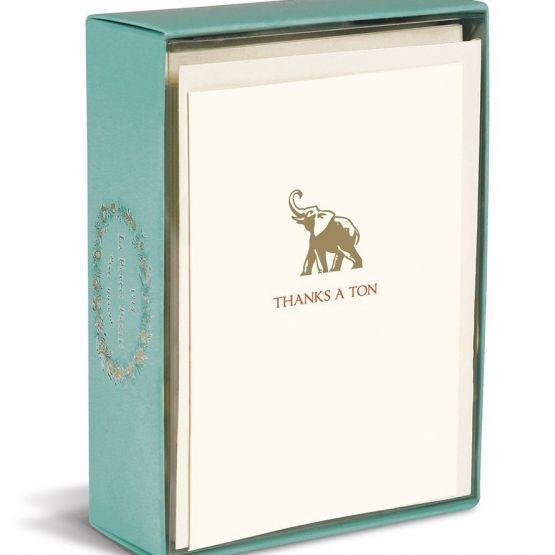 Card Set (Boxed): Graphique de France Elephant Ton