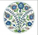 Tin Plate: Ashmolean Flower Sprays
