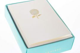 Card Set (Boxed): Graphique de France Hydrangea