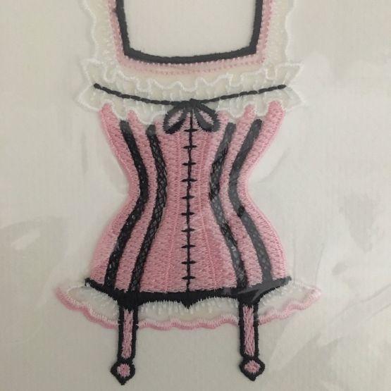 Card (Embroidered): La Corset