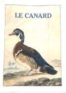 Tea Towel (La Brocante): Le Canard