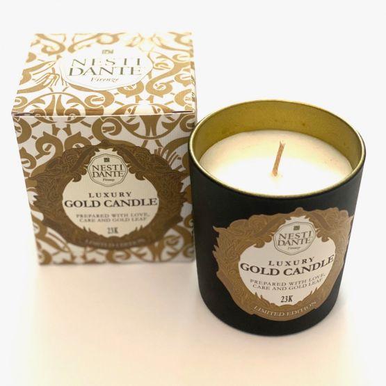Candle: Nesti Dante Luxury Gold Candle