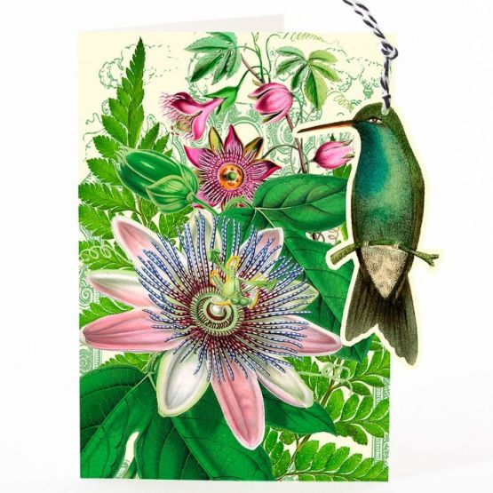 Card (Madame Treacle): Passion Flower