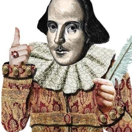 Card (UPG ): William Shakespeare Quotable Notable Card
