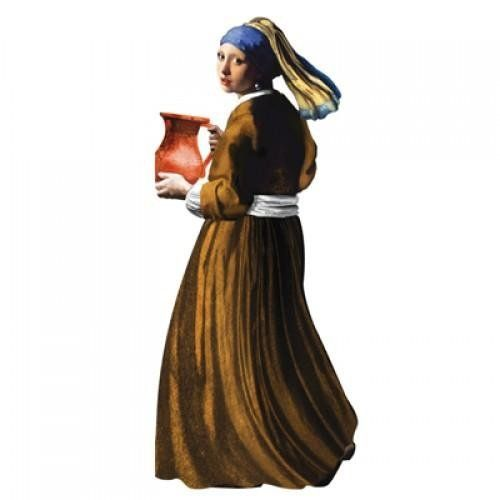 Card (UPG ): Vermeer Girl With Pearl Earring Quotable Notable Card