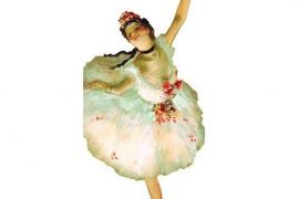 Card (UPG ): Degas Ballerina Quotable Notable Card