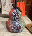 Pin Cushion: Liberty Print Patchwork Pear