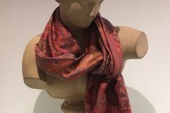 Scarf (Pashmina ): Deluxe  Red
