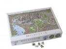 Jigsaw (1000 piece rectangular): The Melbourne Map