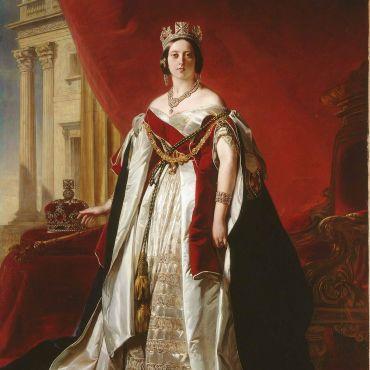 Portrait of Queen Victoria (1819-1901), 1843