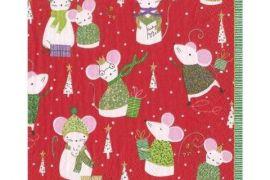 Paper Napkins (Lunch): Christmas - Simon Says Red