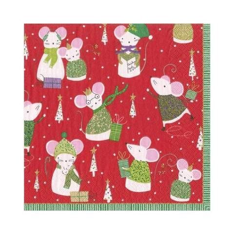 Paper Napkins (Lunch): Christmas - Simon Says Red