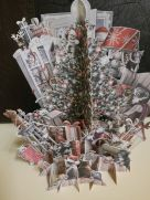 Card (3D Pop up): Christmas - Fun Tree