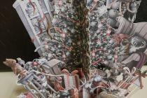 Card (3D Pop up): Christmas - Fun Tree