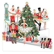 Card (3D Pop up): Christmas - Nutcracker