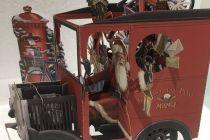 Card (3D Pop up): Christmas - Christmas Post Van