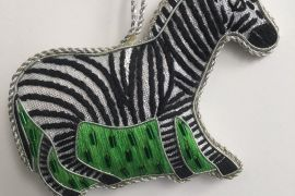 Decoration: Zebra