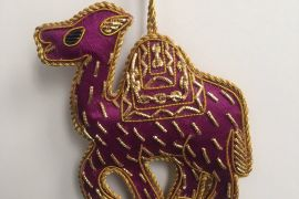 Decoration: Purple camel