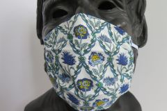 TJC Liberty Face Mask: Kew Trellis
