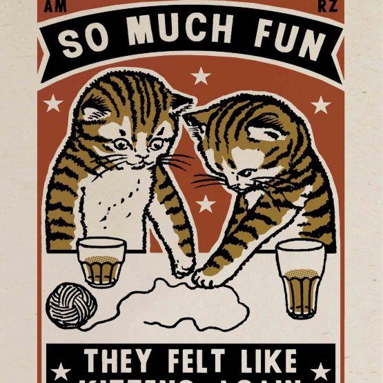 Card ( Arna & Ravi) Kittens Again