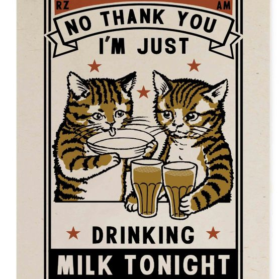 Card (Arna  & Ravi): Milk Tonight