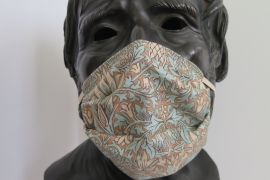 TJC Liberty Face Mask: Morris & co Merton Aqua