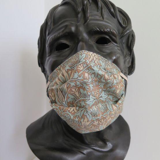 TJC Liberty Face Mask: Morris & co Merton Aqua