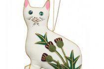 Decoration: Thistle Wemyss Cat