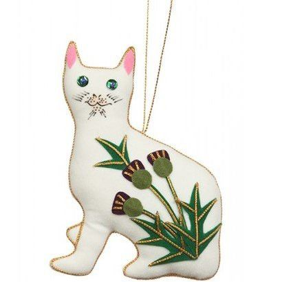 Decoration: Thistle Wemyss Cat