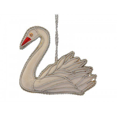 Decoration: White Swan
