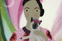 Card (Niaski): Georgia and Her O'Kitty's