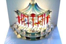 Card: Happy Birthday Carousel