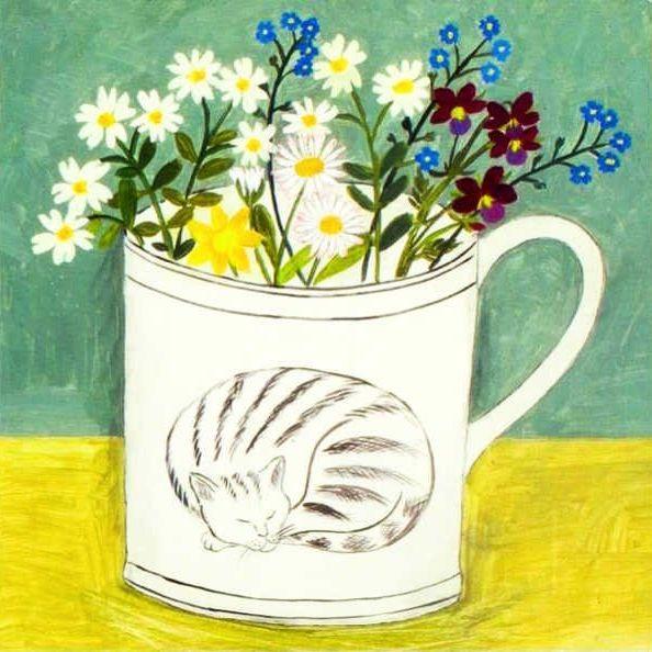Card: Cat Cup