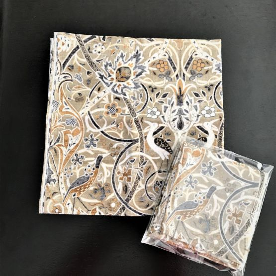 TJC Handkerchief: Morris & Co Montagu