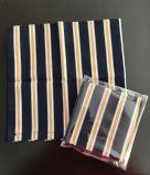 TJC Handkerchief: Morris & Co Kelmscott (Gilt Stripe & Navy)