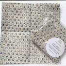 TJC Handkerchief: Morris & Co Kelmscott (Honeycomb in Navy)