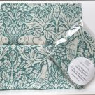 TJC Handkerchief: Morris & Co Brer Rabbit (Teal)