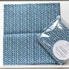 TJC Handkerchief: Liberty Country Path (Blue)