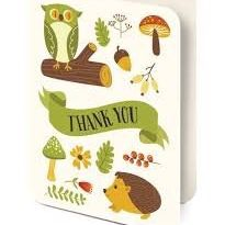 Card Set (Boxed): Critters - Thank You