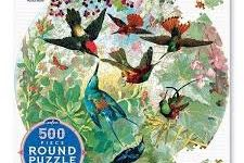 Jigsaw (500 piece circular): Hummingbirds