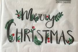 Paper Napkins (Lunch): Christmas - Merry Christmas