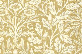 Paper Napkins (Lunch): Acorn (V&A) gold cream
