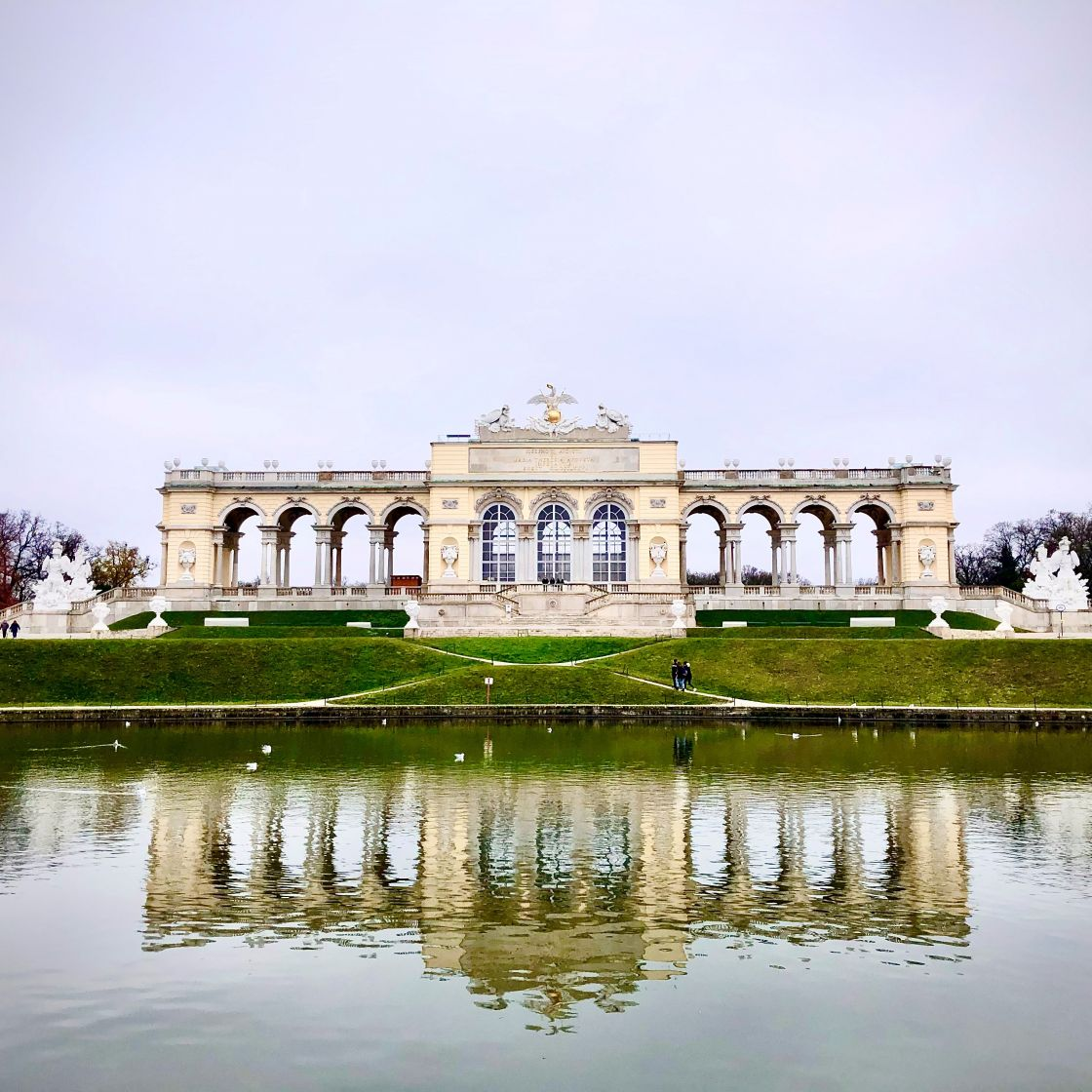 The Gloriette in the Schönbrunn Palace Garden, Vienna, Austria