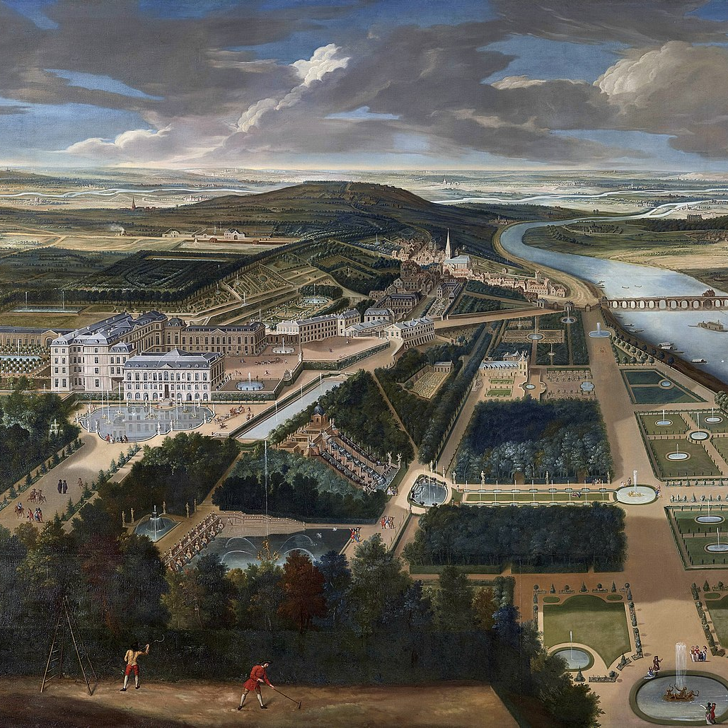 Gardens of Château de Saint-Cloud circa 1720