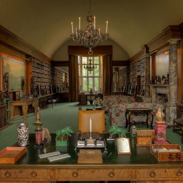 The Library at Anglesey Abbey